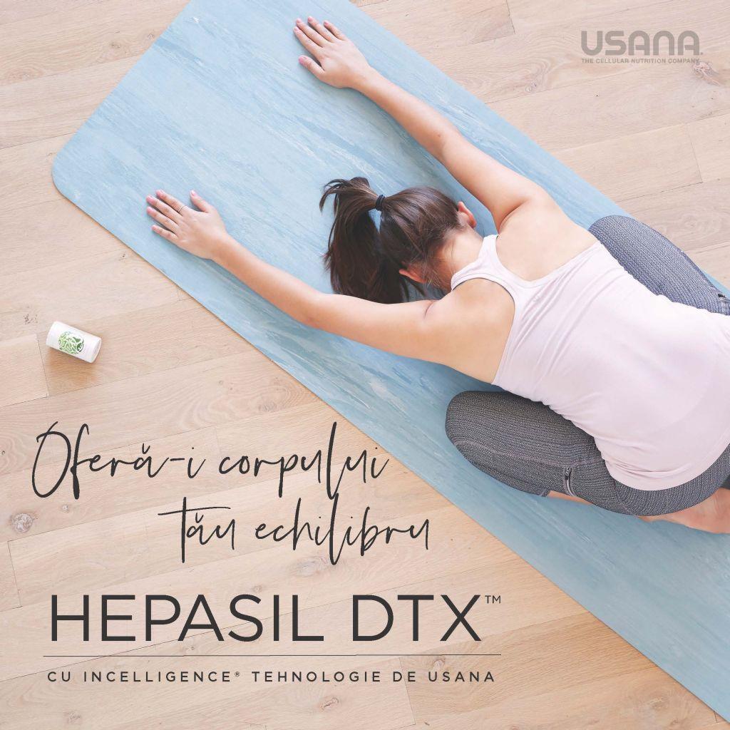 oferta corpului tau echilibru cu hepasil dtx