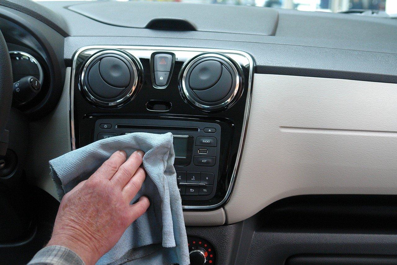germeni bordul masinii