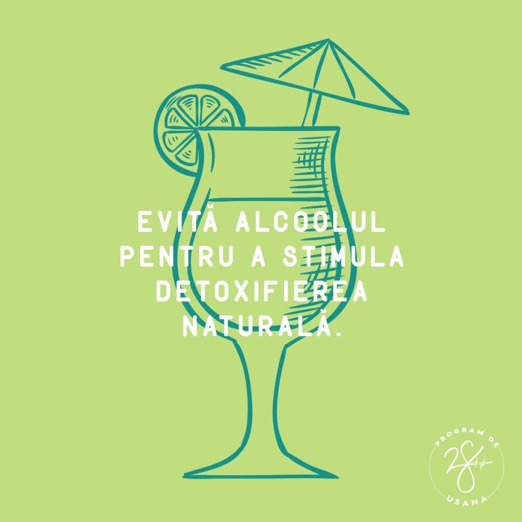 Program de 28 de Zile Evita alcoolul Social Shareable