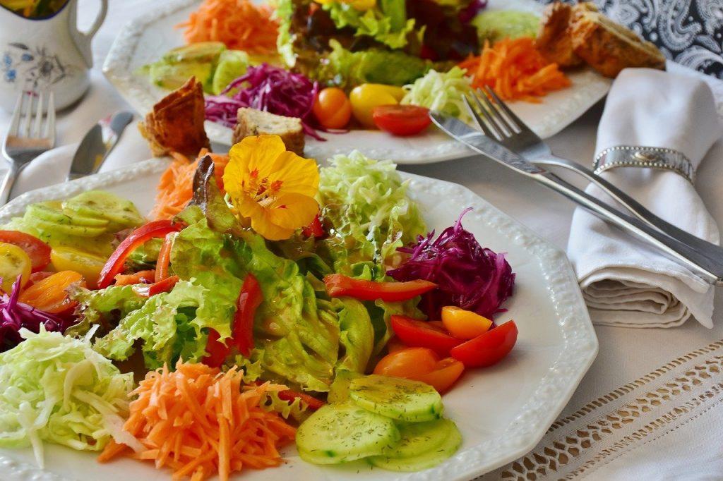 cele 5 simturi gustul salata